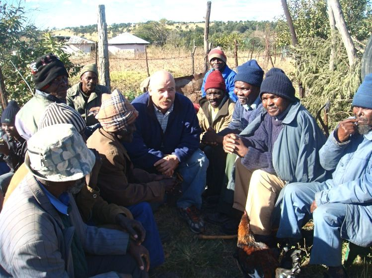 Reaching the Xhosa Men