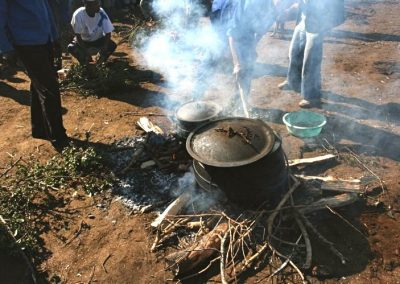 Cooking village style