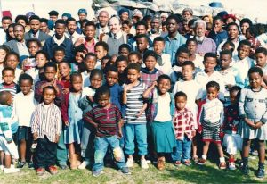 Khosa children and families of Transkei Victory Ministries, of Kelly Kosky Ministries