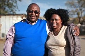 Mandlenkosi and Noxolo (mission director and wife)