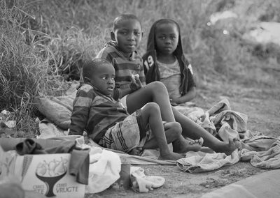 Three Orphans Alone in this World