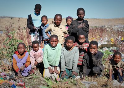 Xhosa family with no parents